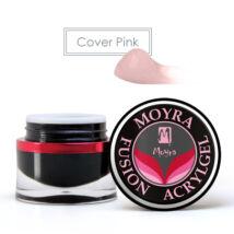 ÚJ* TÉGELYES MOYRA FUSION ACRYLGEL Cover pink, 30ml