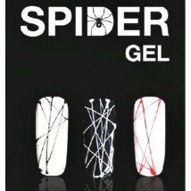 Spider color art gel black, fekete