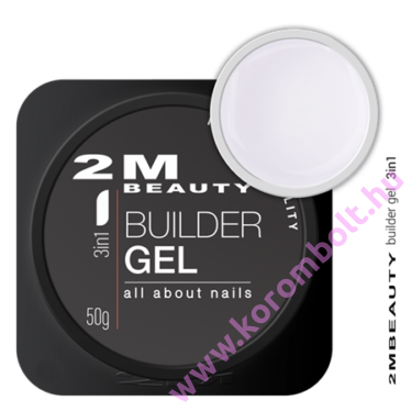 3in1, Cool Builder Clear Gel, átlátszó építőzselé - uv/led gel - 15g