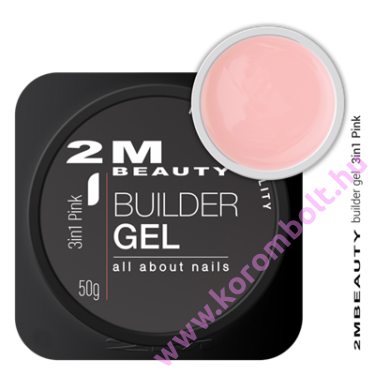 3in1 pink cool nail gel