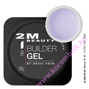 Flex gel,építőzselé, builder clear cool gel