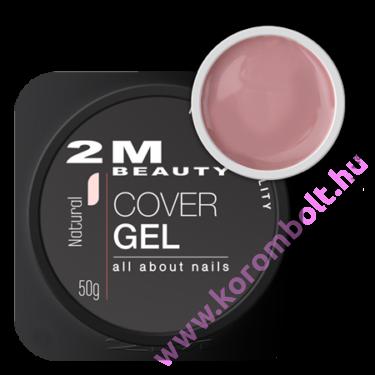 Natural Cover Gel,  körömágyhosszabbító zselé - uv/led gel - 15g