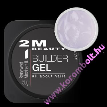 Renewed Master II Clear cool gel- átlátszó építőzselé - uv/led gel -15g