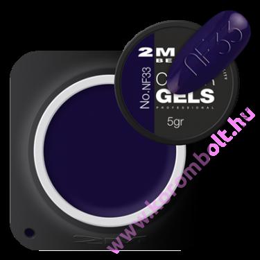Exclusive Color gel  Fixálásmentes Színes Zselé NF033
