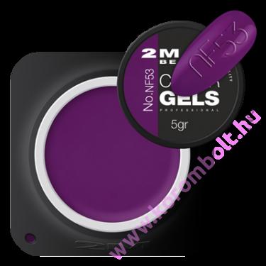Exclusive Color gel  Fixálásmentes Színes Zselé NF053