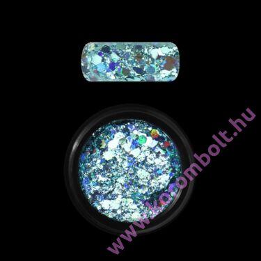 Holo Glitter Mix - türkiz kék csillogású csillám glitter mix