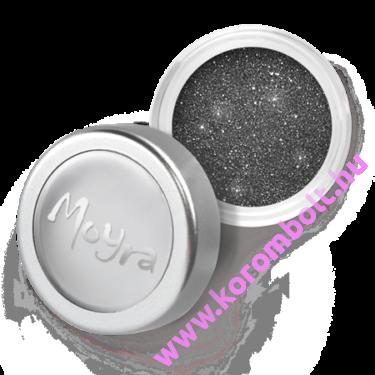 Csillámpor, fénypor, izgalmas grafit és ezüst keveréke szín