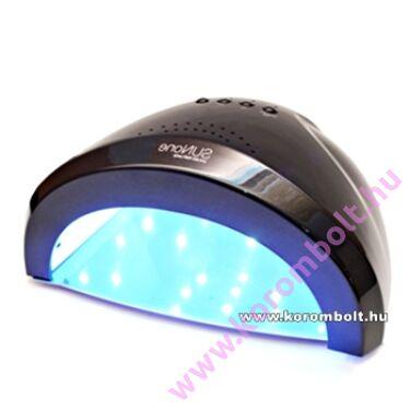 48W-s LedUV lámpa, ventilátorral,műköröm,géllakk
