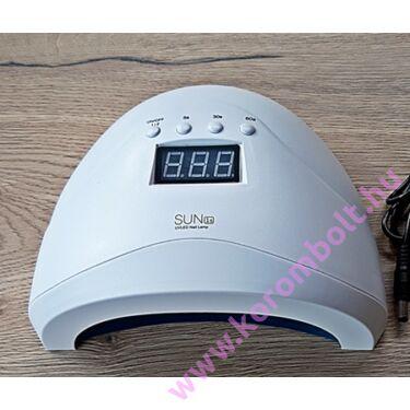 48W-s LedUV lámpa, műköröm,géllakk,digitális kijelzővel