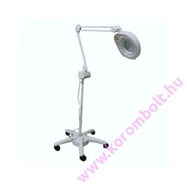 Állványos nagyítós körmös-pedikűrös lámpa, 3 dioptria