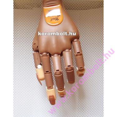 Gyakorló műköröm, géllakk, polygél kéz, profi nail trainer