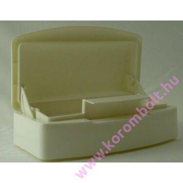 Eszközfertőtlenítő doboz,fedeles tároló kád