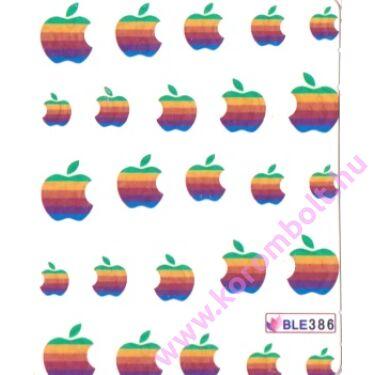 Akril hatású körmösmatrica almákkal