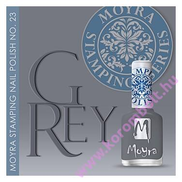Nyomdalakk SP 23: Grey, a divatszín
