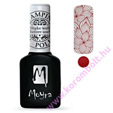 Moyra, Stamping Gel Polish - piros nyomda gél lakk