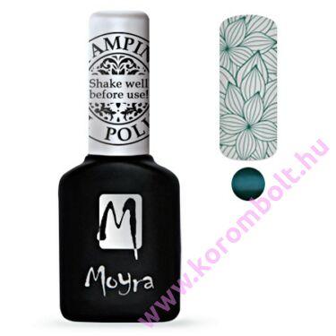 Moyra, Stamping Gel Polish - türkíz zöld nyomda gél lakk