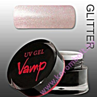 Vamp színes zselé, color gel - csillámos rózsaszín