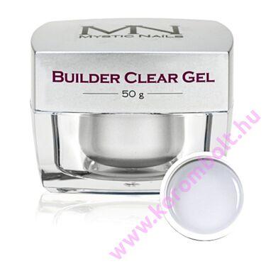 Builder Clear Gel Mystic Nails, átlátszó építőzselé 50g