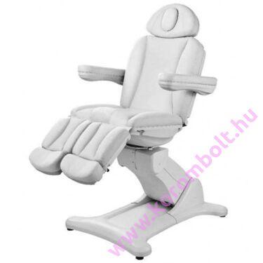 Elektromotoros kezelő, pedikűrös szék-ágy