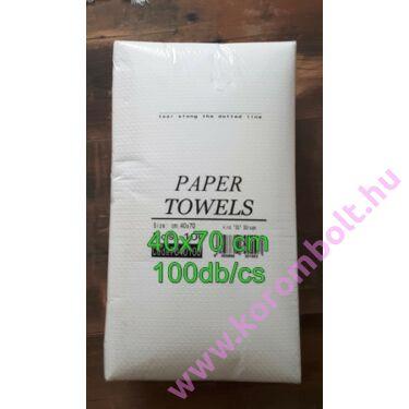 Erős papírtörülköző, 100db, 40x70