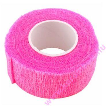 Pink műköröm ujjvédő szalag
