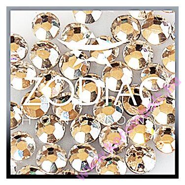 Extra ÚJ* Crystal ezüst színű kristály strasszkő, SS02 extra mini méret - Zodiac (100db)