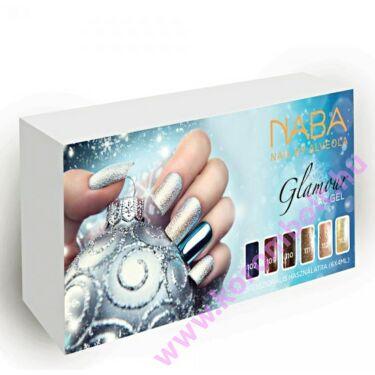 Géllakk készlet, Glamour Lac Gel kit, ünnepi szett 6*4ml szín, 4-et fizet-hatot vihet AKCIÓ