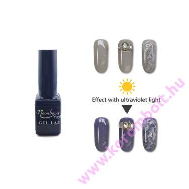 One step, UV fényre sötétedő, vil.szürke Géllakk 5ml - Gél lakk, utolsó darabok szuper akciósan