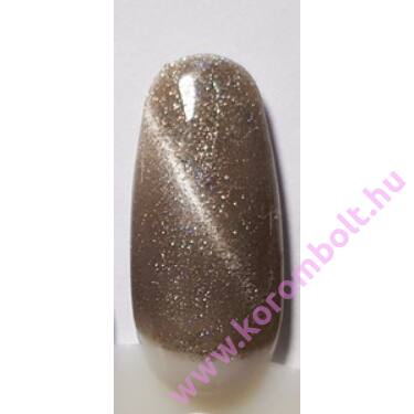 MBSN MAGIC Tiger Eye Champagne gél lakk - aranyló pezsgő színű 5ml