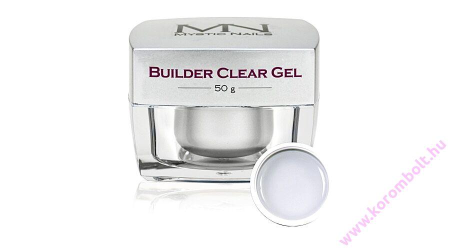 a0d73f5e4c09 Builder Clear Gel Mystic Nails, átlátszó építőzselé 50g